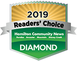 Hamilton dental clinic awarded with the prestigious Reader's choice award 2019