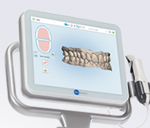 Orthodontics 3D digital impression scanner used at a dental clinic in hamilton